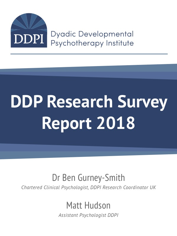 DDP Research Survey Report 2018 cover