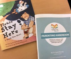 Parenting Through Stories children's book and parenting guide © Sarah Mundy & Rachel Millson-Hill