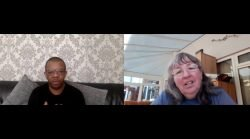 Delroy Madden and Kim Golding from DDP Conversations videos