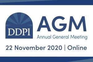 Join us for the Online DDPI AGM, November 22, 2020