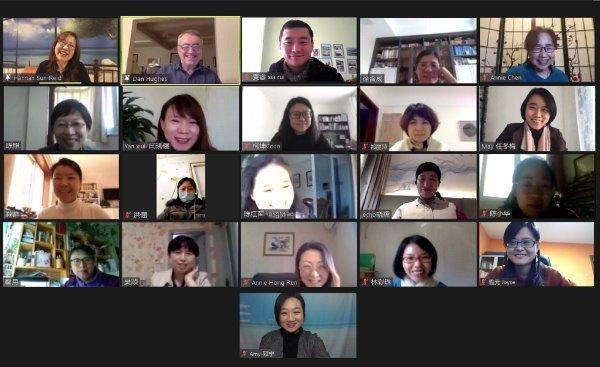 Dan Hughes webinar with Chinese participants