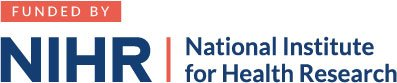 Funded by NIHR logo