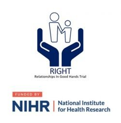 RIGHT Trial and NIHR logos