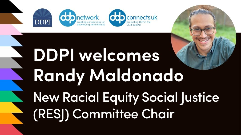 DDPI welcomes Randy Maldonado, new RESJ Chair