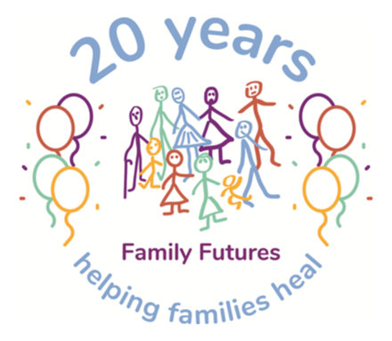 Family Futures logo 20 years © Family Futures 2018
