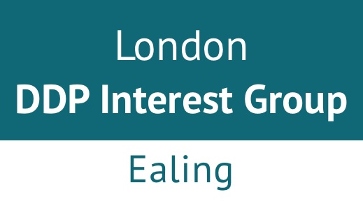 London DDP Interest Group, Ealing, June 2021