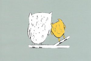 Not Again, Little Owl, new picture book for children moving to a new family