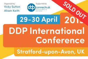 Tickets Sold Out for DDP International Conference UK, April 2019