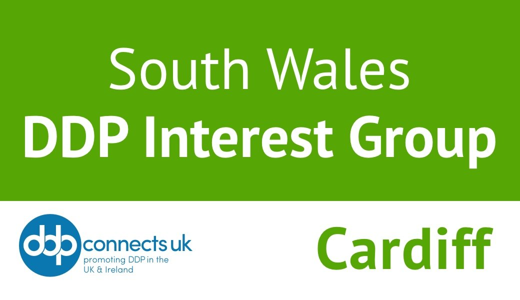 Online South Wales DDP Interest Group, Cardiff, July 21