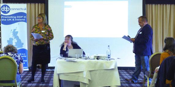 Julie Elliott, Jan Blazak - DDP Connects UK Launch