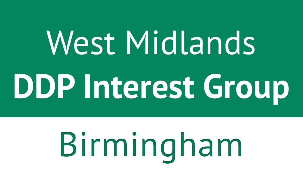 West Midlands DDP Interest Group, Birmingham, March 2018