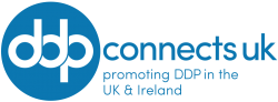 DDP Connects UK logo + strap