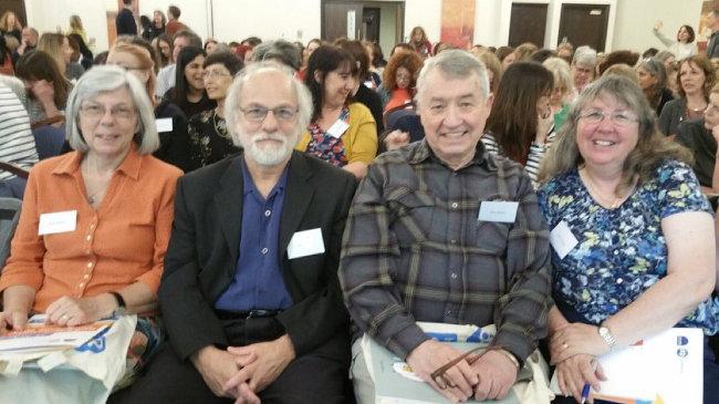 Julie Hudson, Jon Baylin, Dan Hughes and Kim Golding