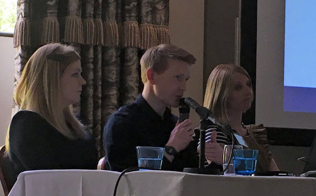 Ruth Miller, Blake Killeen, and Julie McCulloch