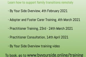 By Your Side 2021 Online Training Dates