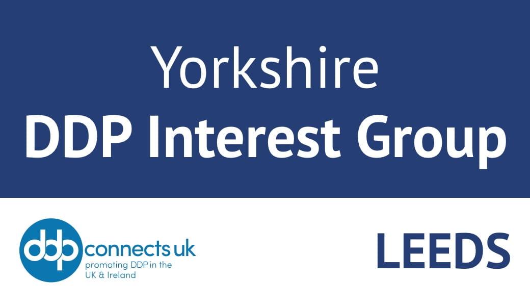 Yorkshire DDP Interest Group, Leeds, October 2021