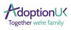 Adoption UK: Together we're family logo