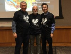 Dan Hughes, Ph.D., Jon Baylin, Ph.D. and Danny Yeung, MD in their sporty DDP PACEful t-shirts!