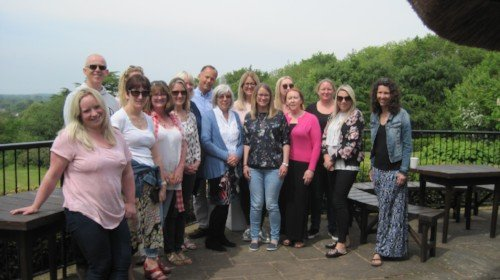 The DDP Level 2 group led by Julie Hudson and Betty Brouwer in Bristol